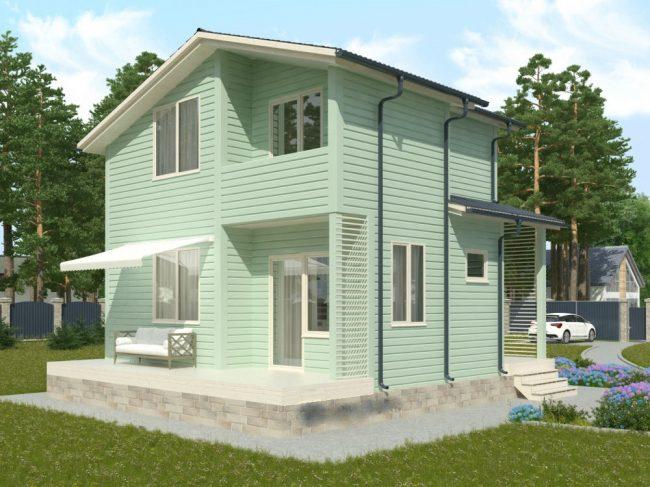 Проект дома №85