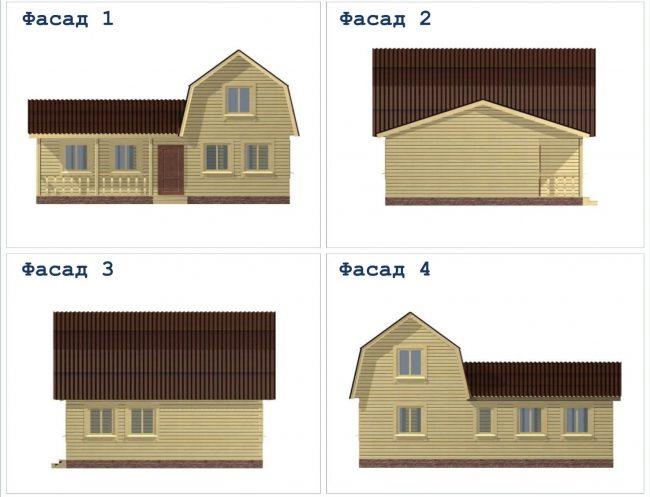 Проект дома №460