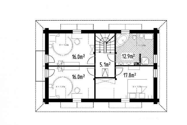 Проект дома №461
