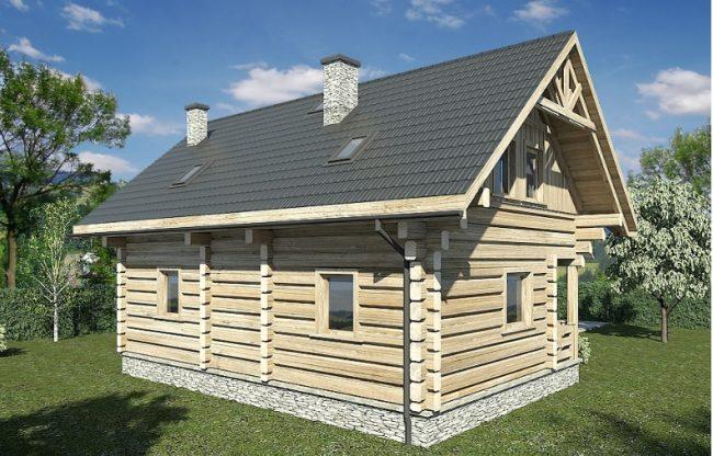 Проект дома №464