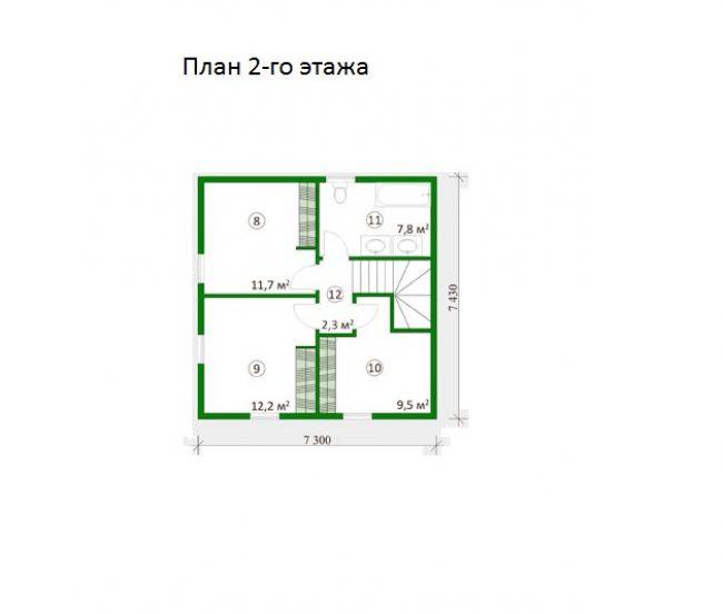 Проект дома №466