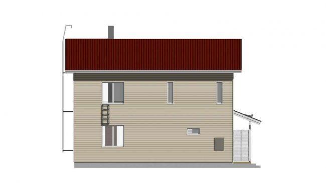 Проект дома №467