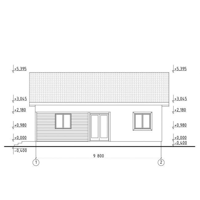 Проект дома №325
