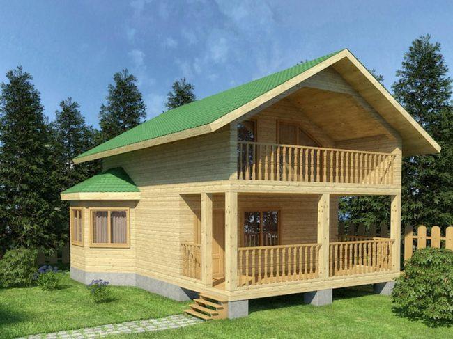 Проект дома №433