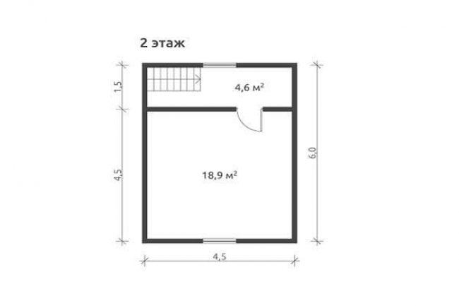 Проект дома №434