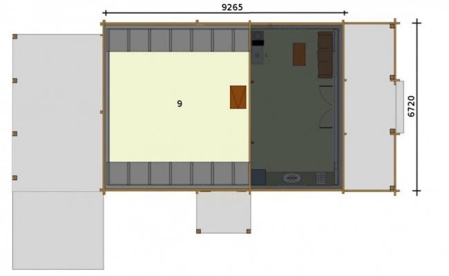 Проект дома №454