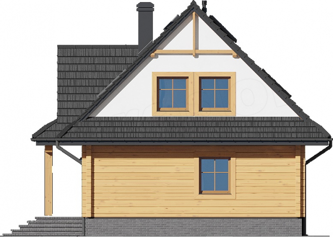 Проект дома №486