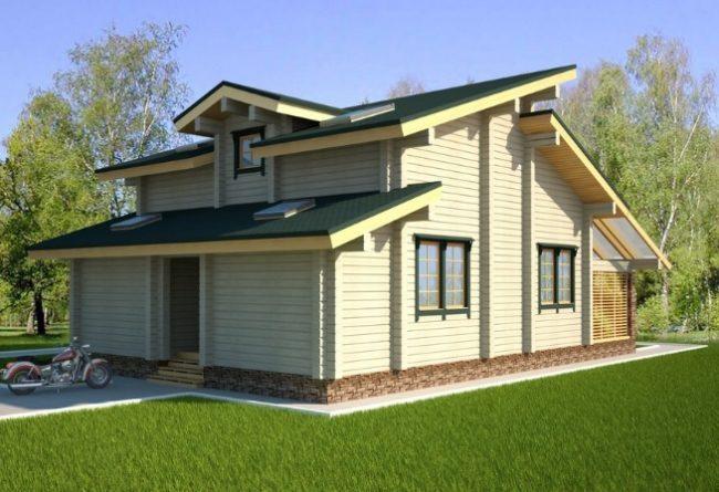 Проект дома №490