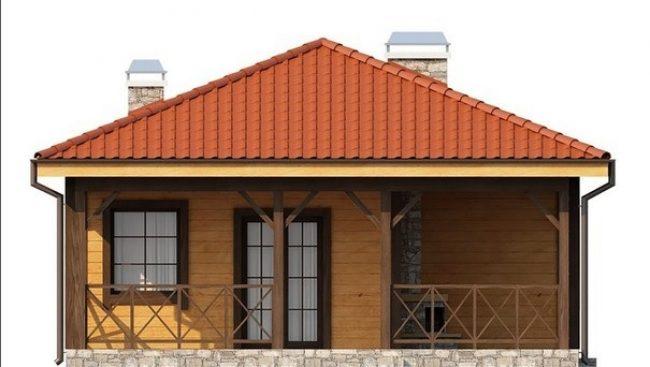 Проект дома №331