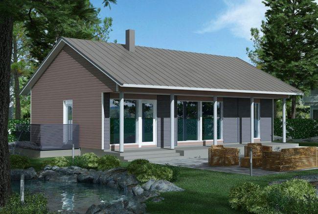 Проект дома №340