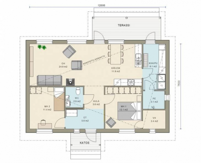 Проект дома №342