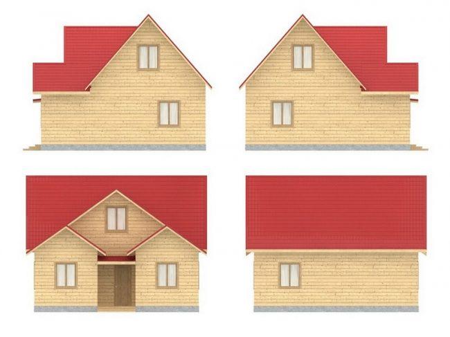 Проект дома №470