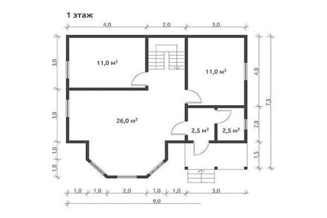 Проект дома №478