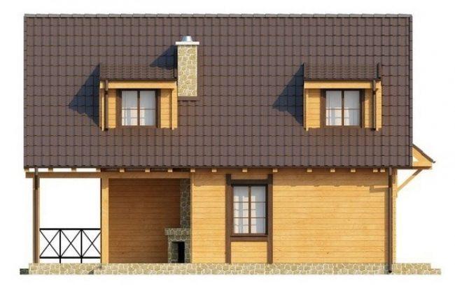 Проект дома №481