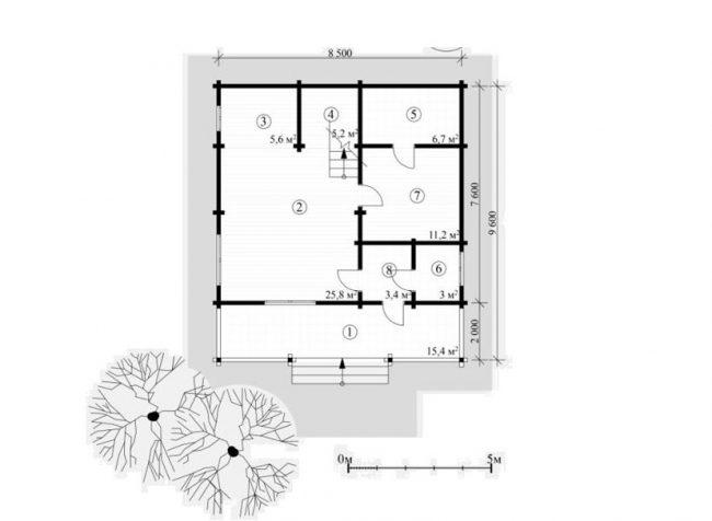 Проект дома №483