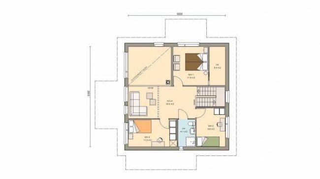 Проект дома №484