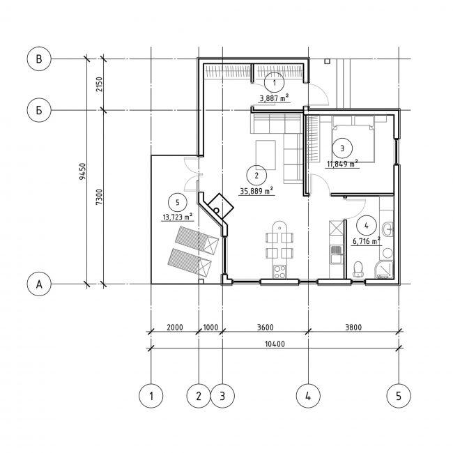 Проект дома №346