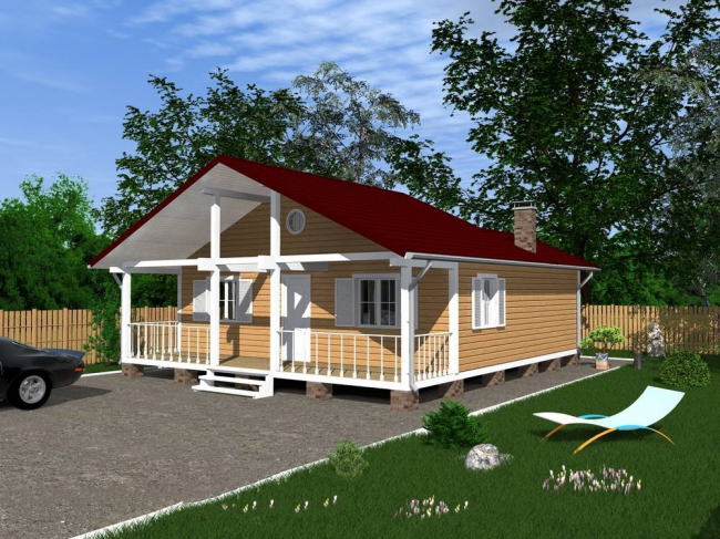 Проект дома №189