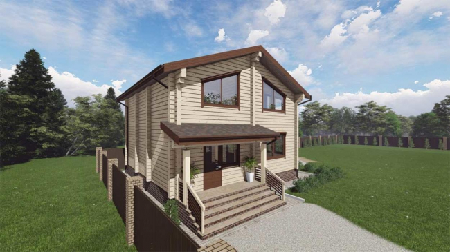 Проект дома №518