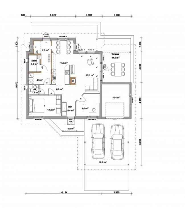 Проект дома №347