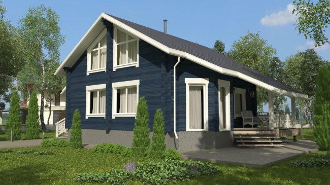 Проект дома №519