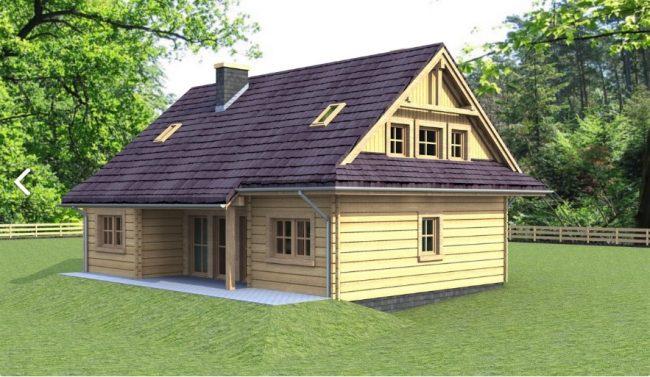 Проект дома №521