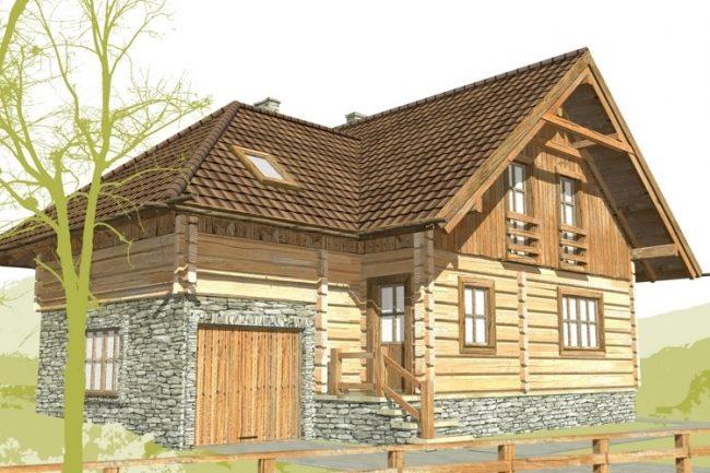 Проект дома №522