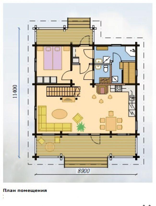 Проект дома №524