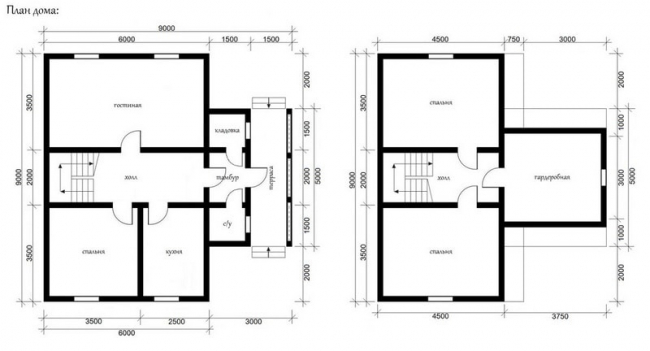Проект дома №502