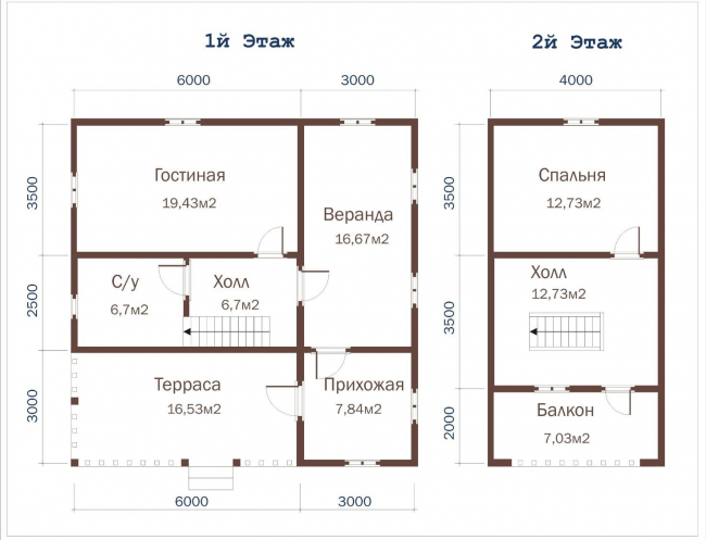 Проект дома №506