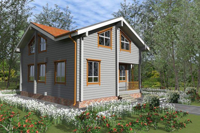 Проект дома №274