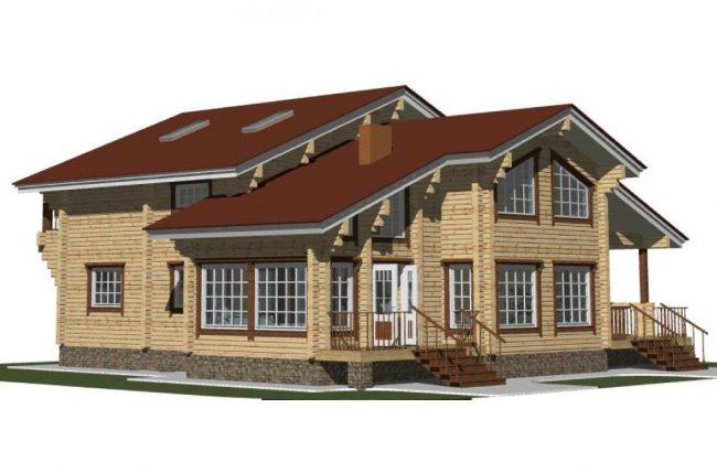 Проект дома №300