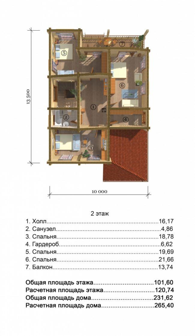 Проект дома №260