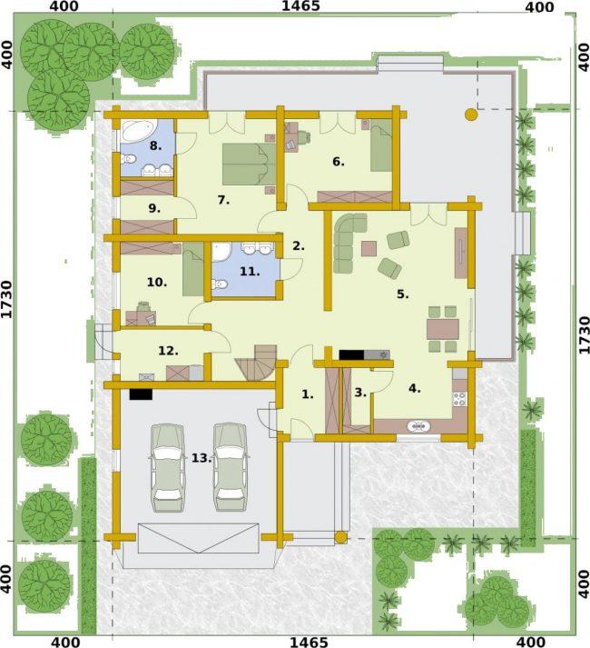 Проект дома №379