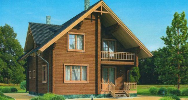 Проект дома №188