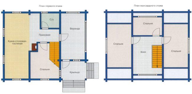 Проект дома №176