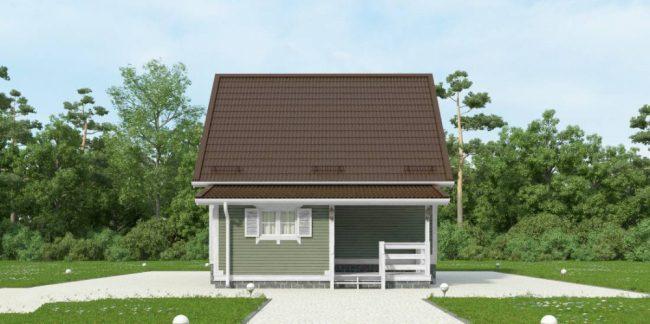 Проект дома №82