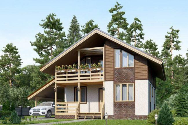 Проект дома №141