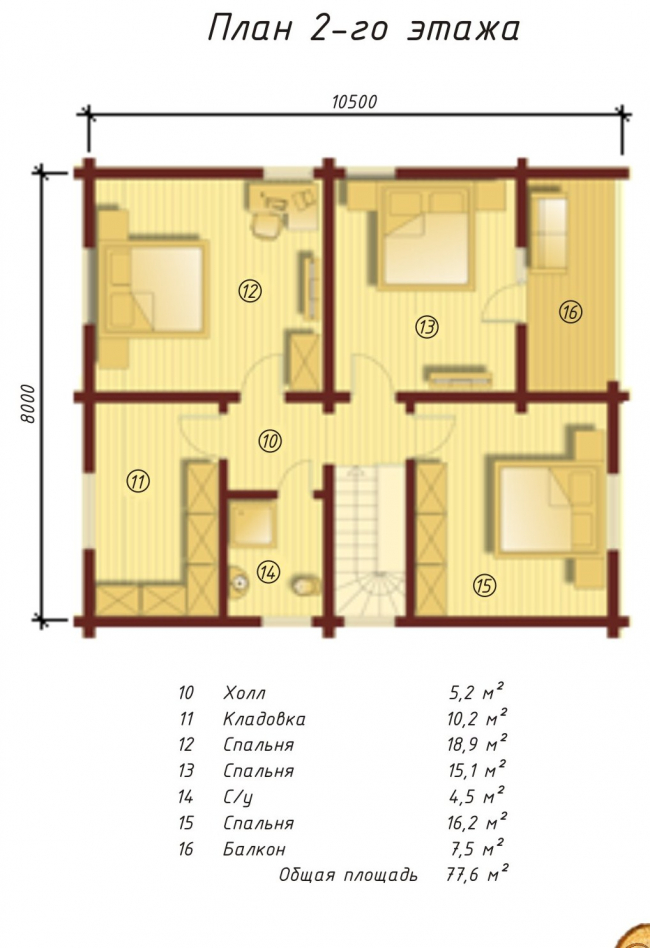 Проект дома №159