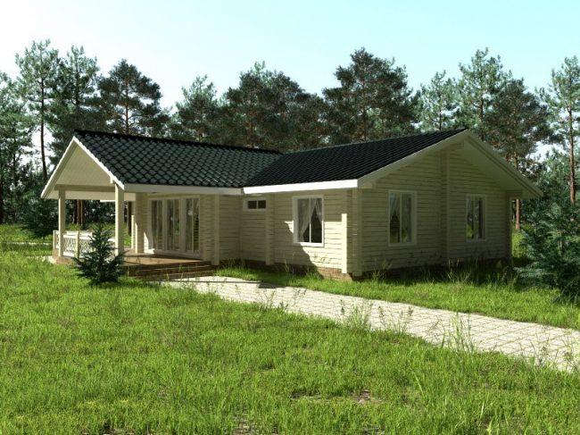 Проект дома №257