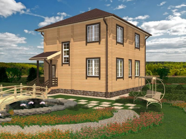 Проект дома №165
