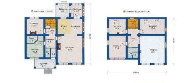 Проект дома №280