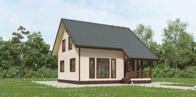 Проект дома №142