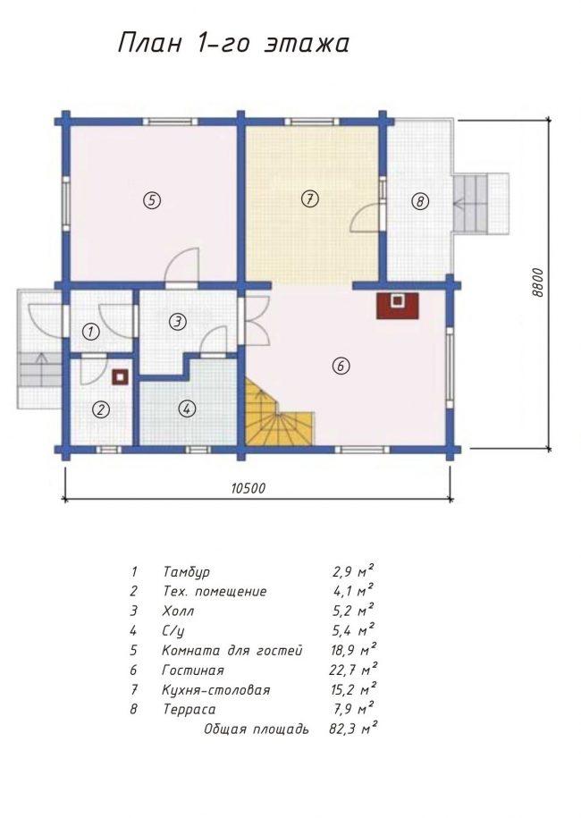 Проект дома №198