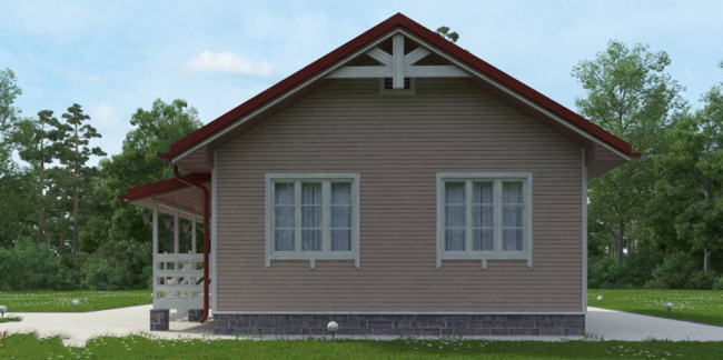 Проект дома №196