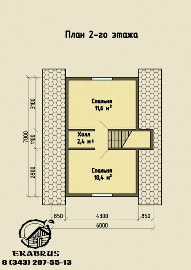 Проект дома №53
