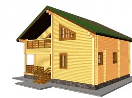 Проект дома №169