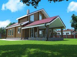 Проект дома №529