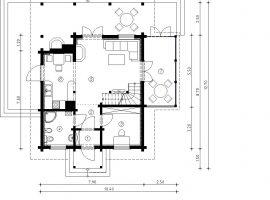 Проект дома №537