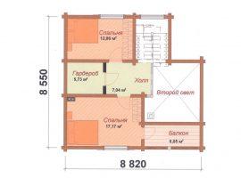 Проект дома №538